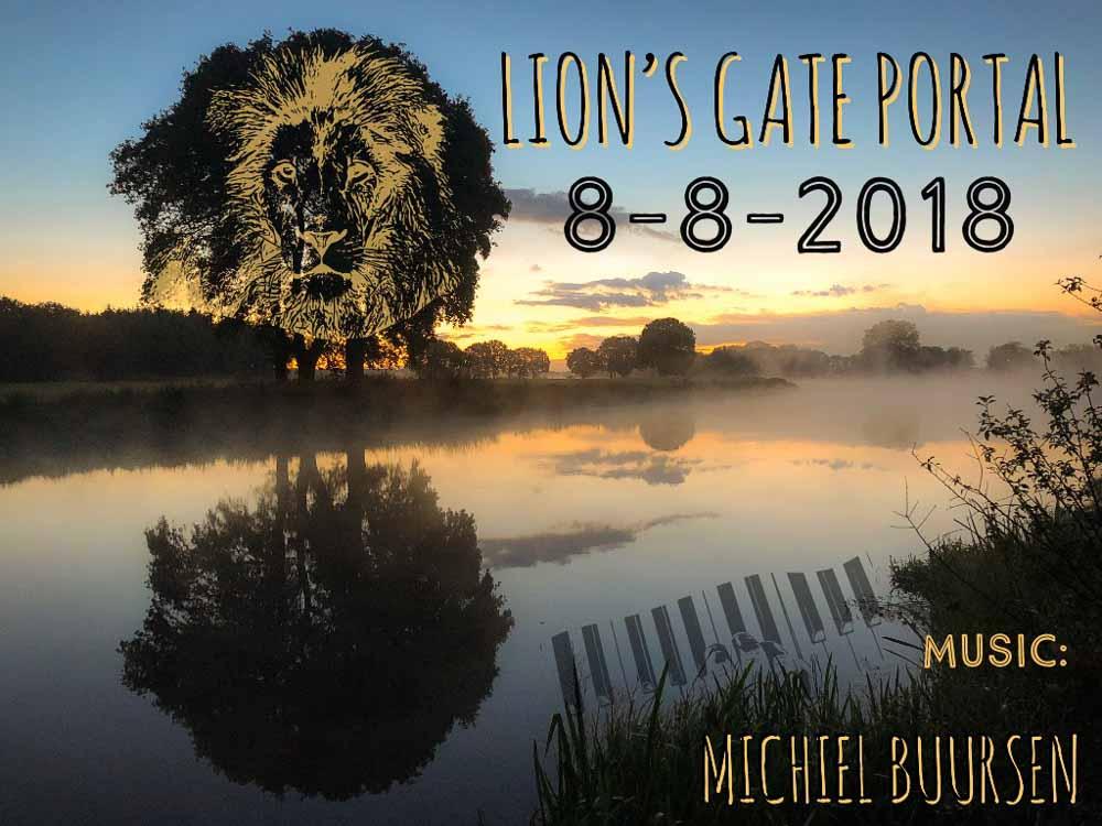 Opening Leeuwenpoort 8-8-2018 Lion's gate portal